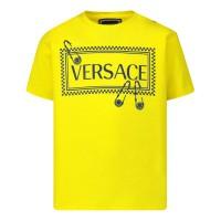 Afbeelding van Versace YB000135 baby t-shirt geel