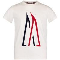 Afbeelding van Moncler 8023750 kinder t-shirt off white