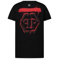 Afbeelding van Philipp Plein F20C BTK 1003 kinder t-shirt zwart