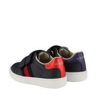 Afbeelding van Gucci 455447 kindersneakers navy
