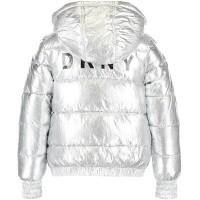 Afbeelding van DKNY D36591 kinderjas zilver