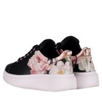 Afbeelding van Ted Baker 917962 dames sneakers zwart