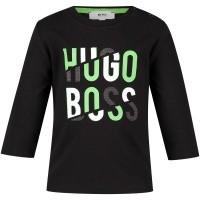 Afbeelding van Boss J05677 baby t-shirt zwart