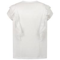 Afbeelding van Liu Jo GA1012 kinder t-shirt wit