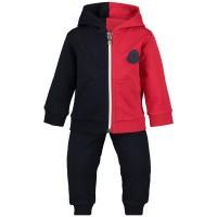 Afbeelding van Moncler 8812005 baby joggingpak navy