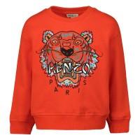 Afbeelding van Kenzo KP15648 baby trui oranje