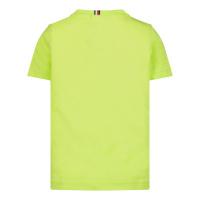Afbeelding van Tommy Hilfiger KB0KB05844B baby shirts fluor geel