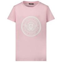 Afbeelding van Balmain 6M8091 kinder t-shirt licht roze