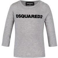 Afbeelding van Dsquared2 DQ02ZQ baby t-shirt grijs