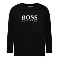 Afbeelding van Boss J05P10 baby t-shirt zwart