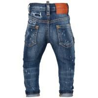 Afbeelding van Dsquared2 DG01TC D00U0 babybroekje jeans