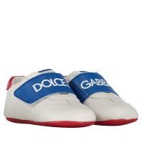 Afbeelding van Dolce & Gabbana DK0104 babysneakers wit/zwart