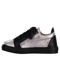 Afbeelding van Guiseppe Zanotti SBE8102/8402 kindersneakers zilver