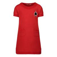 Afbeelding van Moncler 8I72310 babyjurkje rood