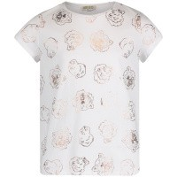 Picture of Kenzo KN10228 kids t-shirt white