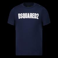 Afbeelding van Dsquared2 DQ0552 baby t-shirt navy