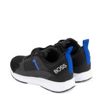Afbeelding van Boss J29272 kindersneakers zwart