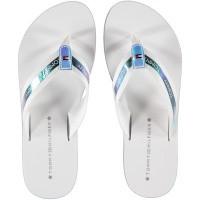 Afbeelding van Tommy Hilfiger FW0FW04016 dames slippers wit