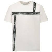 Afbeelding van Calvin Klein IB0IB00609 kinder t-shirt wit