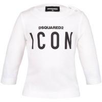 Afbeelding van Dsquared2 DQ031Q baby t-shirt wit
