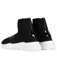 Afbeelding van Moschino JA15233 dames sneakers zwart