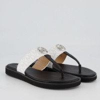 Picture of Michael Kors 40S9LIFA1B womens flipflops black