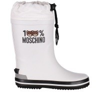 Afbeelding van Moschino 26278 kinderlaarzen wit