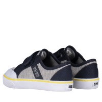Picture of Boss J09107 kids sneakers grey