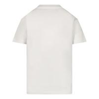 Afbeelding van Dsquared2 DQ0168 baby t-shirt wit