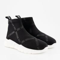 Afbeelding van Moschino JA15433 dames sneakers zwart