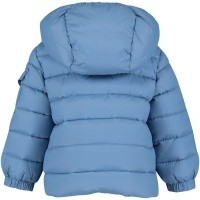 Picture of Moncler 4199405 baby coat light blue