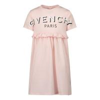 Afbeelding van Givenchy H02075 babyjurkje licht roze