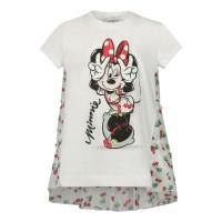 Afbeelding van MonnaLisa 195620SQ kinder t-shirt wit