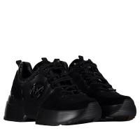 Afbeelding van Michael Kors 43R9CSFS5D dames sneakers zwart