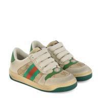 Afbeelding van Gucci 626620 kindersneakers groen