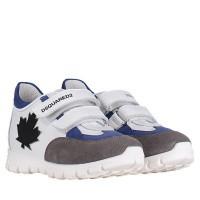 Afbeelding van Dsquared2 59692 kindersneakers wit/blauw