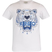 Picture of Kenzo KN10738 kids t-shirt white