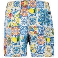 Afbeelding van Dolce & Gabbana L4U832 kinder zwemkleding wit
