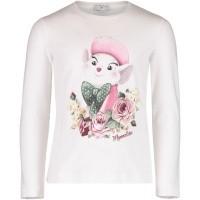 Afbeelding van MonnaLisa 112600S4 kinder t-shirt off white