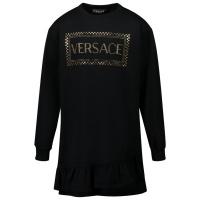 Afbeelding van Versace YC000341 kinderjurk zwart