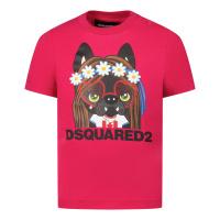 Afbeelding van Dsquared2 DQ0170 baby t-shirt roze