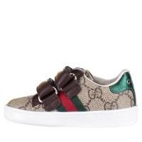 Afbeelding van Gucci 463088 9C220 kindersneakers bruin