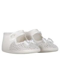Afbeelding van MonnaLisa 733008 babyschoenen off white