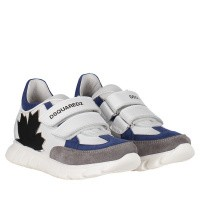 Picture of Dsquared2 59829 kids sneakers white