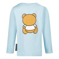 Afbeelding van Moschino MOO005 baby t-shirt licht blauw