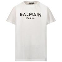 Afbeelding van Balmain 6P8701 Z0003 kinder t-shirt wit