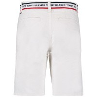 Picture of Tommy Hilfiger KB0KB04780 kids shorts white