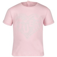 Picture of Guess A92I00 baby shirt light pink