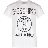 Afbeelding van Moschino HSM024 kinder t-shirt wit