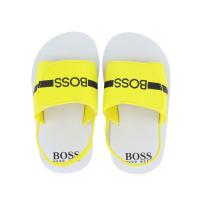 Afbeelding van Boss J09143 kindersandalen geel